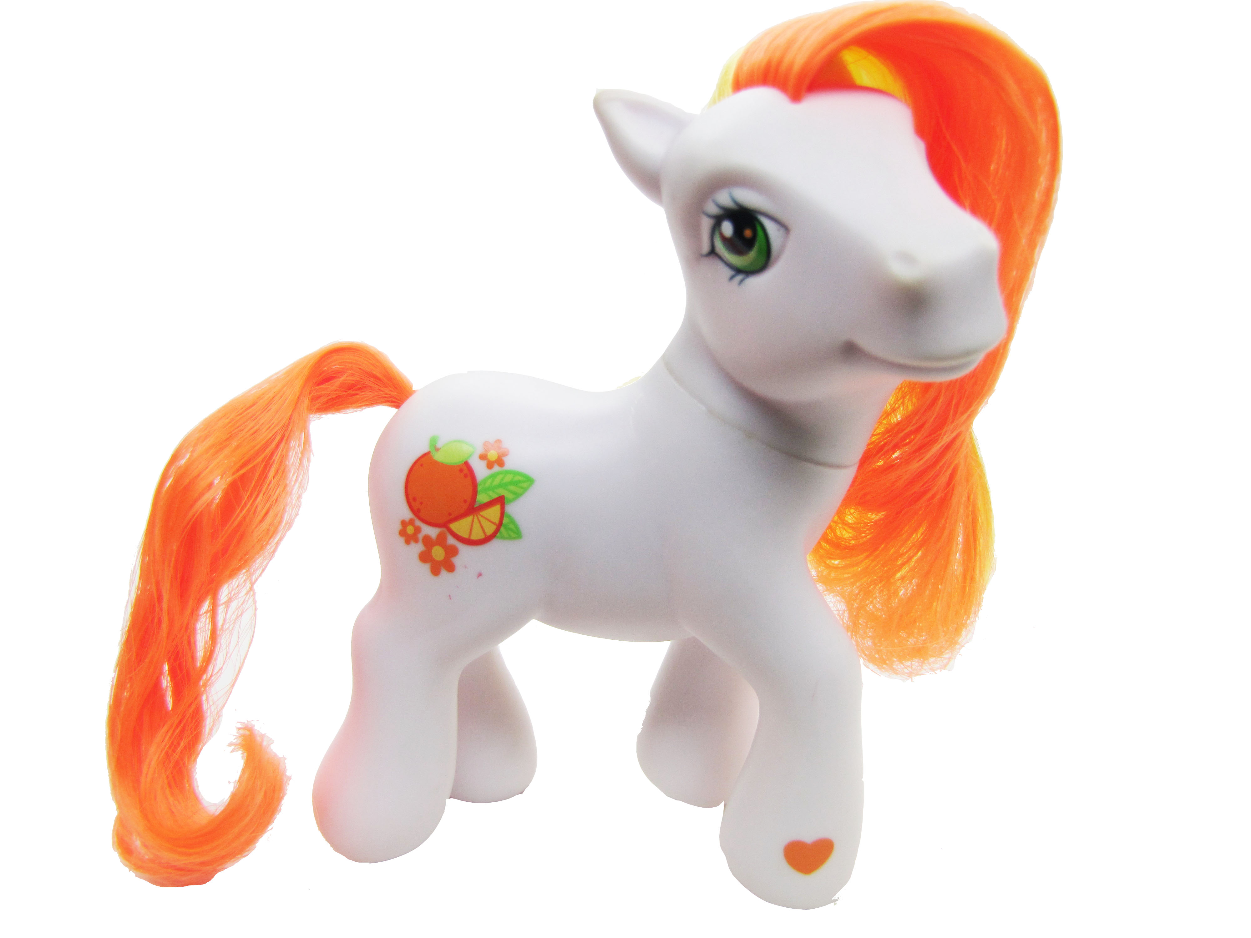 2005 My Little Pony Citrus Sweetheart Complete